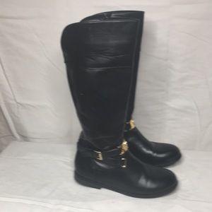 Michael Kors Rivera Boots In black